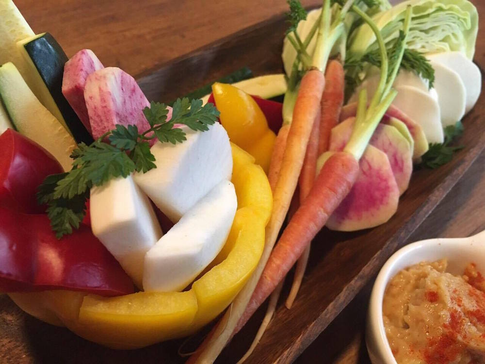 県北野菜スティック 手作り味噌ディップ