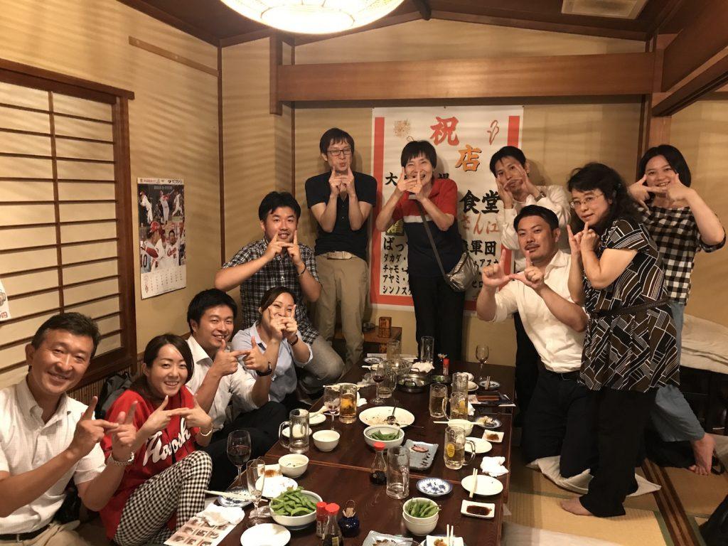 ひろしま感が溢れて常連気分の「瀬戸内食堂」。流川かとw☆[report第83回drinksひろしま]
