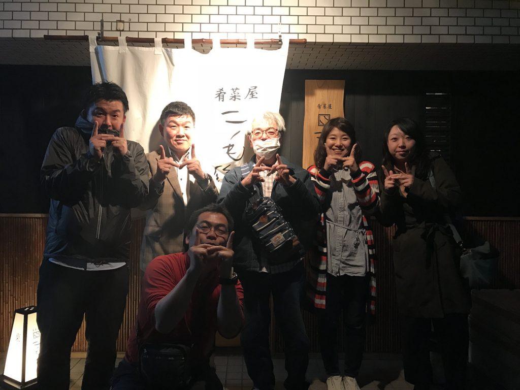 広島の「花見で一杯!」は『二毛作』さんで。(白島の造り酒「蓬莱鶴」(ほうらいづる)とともに!)|二毛作@白島