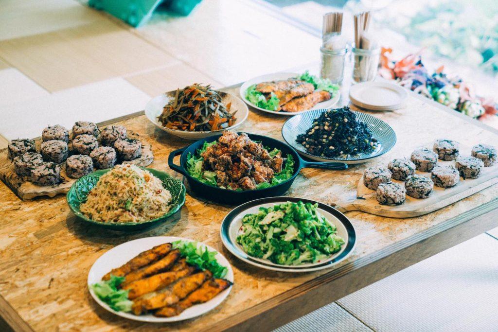 お昼drinks!やさしい家庭料理で大人も子どももスクスクと。(12/15@永田町・tiny peace kitchen)